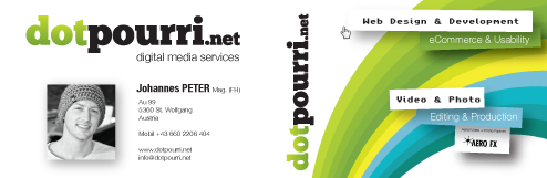 dotpourri.net business card